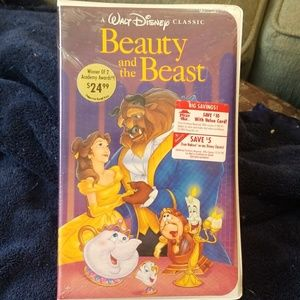 VHS video Disney Beauty and the Beast